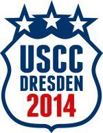Aufkleber - USCC Dresden 2014