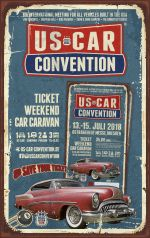USCC2018 ♦ TICKET WEEKEND CAR CARAVAN