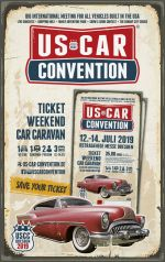 USCC2019 ♦ TICKET WEEKEND CAR CARAVAN