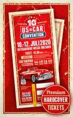 USCC2020 ♦ TICKET WEEKEND CAR CARAVAN