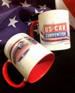 "USCC ♦ Coffee Cup ""Red Car"""